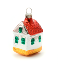 House Glass Christmas ornament