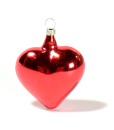 Heart Red Christmas ornament