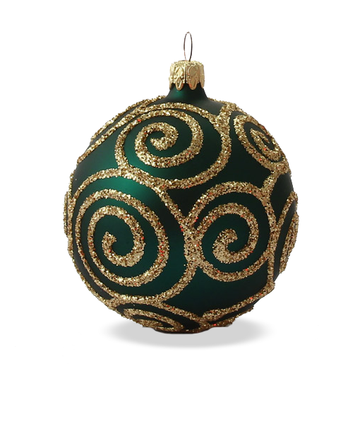 Christmas Baubles.Christmas Baubles Baroque Green Set Of 6 Or 12