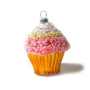 Christmas Ornament coco cupcake