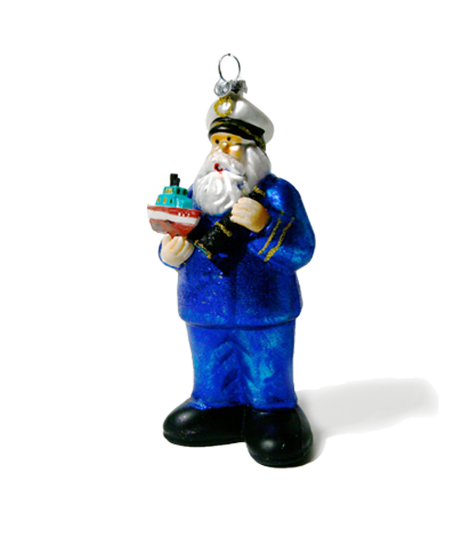 Christmas Ornament Captain