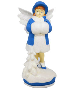 Angel Figure Bridgette blue
