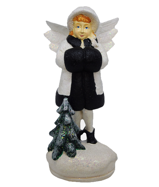 Angel Figure Bridgette black