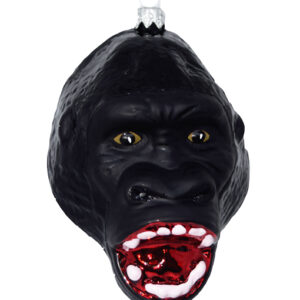 Christmas Ornament big gorilla head